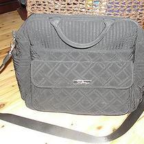 Vera Bradley Diaper Bag Black Photo