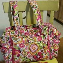 Vera Bradley Diaper Bag Clementine Euc Photo