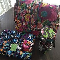 Vera Bradley Diaper Bag in Va Va Bloom Photo