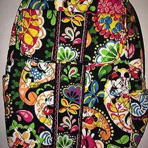 Vera Bradley Disney Midnight With Mickey Backpack Bag Parks Collection Nwt A Photo