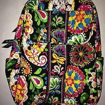 Vera Bradley Disney Midnight With Mickey Backpack Bag Parks Collection Nwt Photo