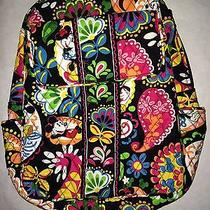 Vera Bradley Disney Midnight With Mickey Backpack Bag Parks Collection Nwt E Photo
