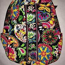 Vera Bradley Disney Midnight With Mickey Backpack Bag Parks Collection Nwt D Photo