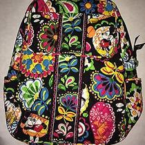 Vera Bradley Disney Midnight With Mickey Backpack Parks Collection Nwt  Photo