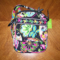 Vera Bradley Disney Midnight With Mickey Minnie Mini Hipster Crossbody Purse Photo