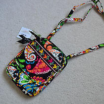 Vera Bradley Disney Mini Hipster Midnight With Mickey Nwt Photo