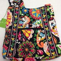 Vera Bradley Disney Nwt Hipster Bag in Midnight With Mickey - Hard to Find Photo
