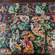 Vera Bradley Disney Parks Midnight Mickey Mouse Large  Tote  Nwt Photo