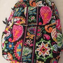 Vera Bradley Disney  Parks Midnight With Mickey Backpack Nwt Photo