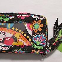 Vera Bradley Disney Parks Smartphone Wristlet Midnight With Mickey Photo