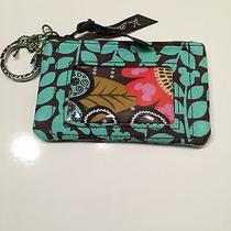 Vera Bradley Disney Perfect Petals Zip Id Case Wallet Nwt  Photo