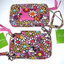 Vera Bradley Disney Smartphone Iphone Wristlet Wallet Just Mousing Around Mickey Photo