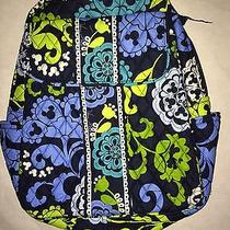 Vera Bradley Disney Where's Mickey Backpack Bag Blue Green Nwt Photo