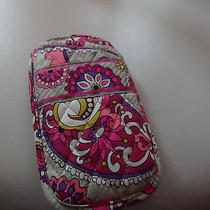 Vera Bradley Double Eye Glass Case in Retired Paisley Meets Plaid Pattern Photo