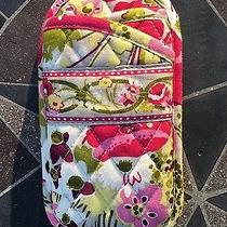 Vera Bradley Double Eyeglass Soft Case Holder Make Me Blush Pink Rare Sunglass Photo