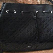 Vera Bradley Drawstring Shoulder Bag Microfiber Mint Photo