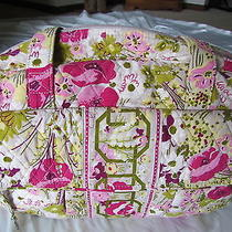Vera Bradley Euc Baby Bag Retired Pattern Make Me Blush W/changing Pad Photo