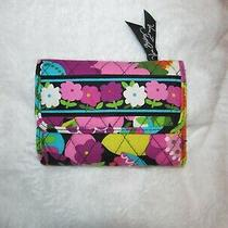 Vera Bradley Euro Wallet in Va Va Bloom Great Condition Photo