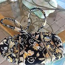 Vera Bradley Extremely Rare Yellow Bird Small Duffel Purse Excellent Condition Photo