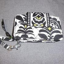 Vera Bradley Fanfare Smartphone  Iphone 5 5s Wristlet Wallet--New Photo