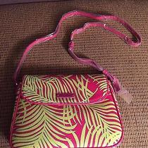 Vera Bradley Flap Crossbody Purse Palm Fronds Nwt Photo