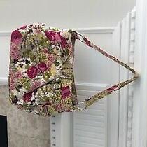 Vera Bradley Floral Make Me Blush Purse Photo