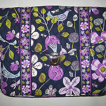 Vera Bradley Floral Nightingale Attache Messenger Bag Briefcase - New  Photo