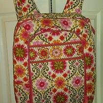 Vera Bradley Flower Laptop Backpack  Photo