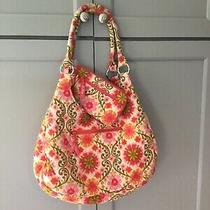 Vera Bradley Folkloric  Large  Hobo Tote  With Matching Wallet Photo