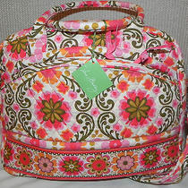 Vera Bradley Folkloric Metropolitan Bag Diaper Tote Briefcase Nwt Photo
