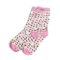 Vera Bradley  Foxy Socks Blush Half Moons Cotton Blend Item 15412-562 Nwt Photo