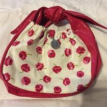 Vera Bradley Frill Collection Tippy Tie Bag in Make Me Blush Purse Makeup Bag Photo