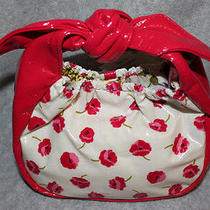 Vera Bradley Frill Collection Tippy Tie Purse Nwt in Make Me Blush Photo