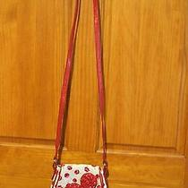 Vera Bradley Frill Comin' Up Roses Cross Body Purse Handbag Make Me Blush  Photo