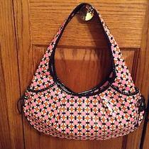 Vera Bradley Frill Tied Together Hobo Perfect Gift Photo
