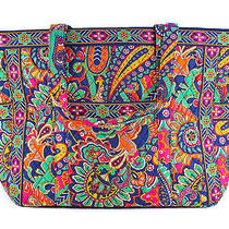 Vera Bradley Get Carried Away Tote Venetian Paisley Luggage Bag New Photo
