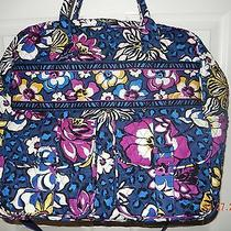 Vera Bradley Grand Cargo Bag in African Violet Photo