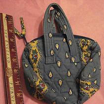 Vera Bradley Hand Bag Snall Purse Blue Photo