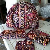 Vera Bradley Handbag and Accessories (4 Piece Set) Photo
