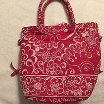 Vera Bradley Handbag Pink Twirly Bird Photo