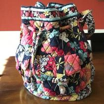 Vera Bradley Happy Snails Quickdraw Crossbody Blue Yellow Pink Photo
