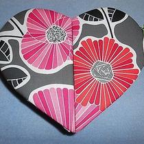 Vera Bradley Heart to Heart Jewelry Case Box Cheery Blossoms  Nwt Photo