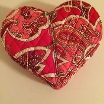 Vera Bradley Heart to Heart Jewelry Case in Rosy Posies- Nwt Photo