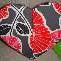Vera Bradley Heart to Heart Jewelry Case New With Tags 40 Retail Photo