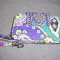 Vera Bradley Heather Smartphone  Iphone 5 5s Wristlet Wallet--New Photo