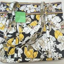 Vera Bradley Holiday Tote Dogwood New With Tags Photo