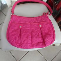 Vera Bradley Hot Pink Microfiber Shoulder Bag Photo