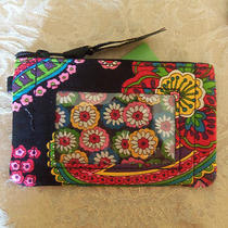Vera Bradley Id Case Symphony in Hue Nwt Photo