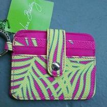 Vera Bradley in a Snap Card Case in Palm Fronds New With Tag Photo