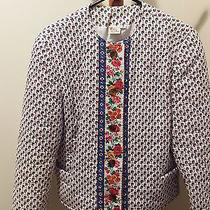 Vera Bradley Indiana Quilted Jacket Provence Small Very Rare Excellent Condition Photo